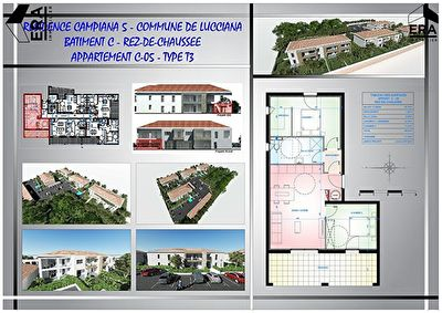Programme neuf Lucciana 3 pièces 60 m2